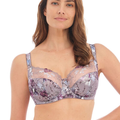 Close up of Fantasie's Ellyn Underwire Side Support Bra in Vintage Blossom