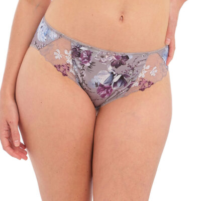 Front view of Fantasies Ellyn Brief in Vintage Blossom
